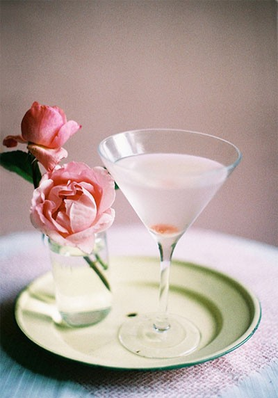 table for two rose martini