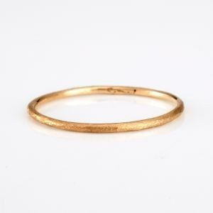 thin bronze ring