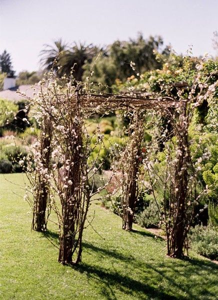 twig ceremony arch