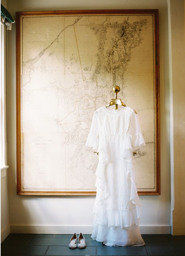 Vintage Cotton Wedding Dress