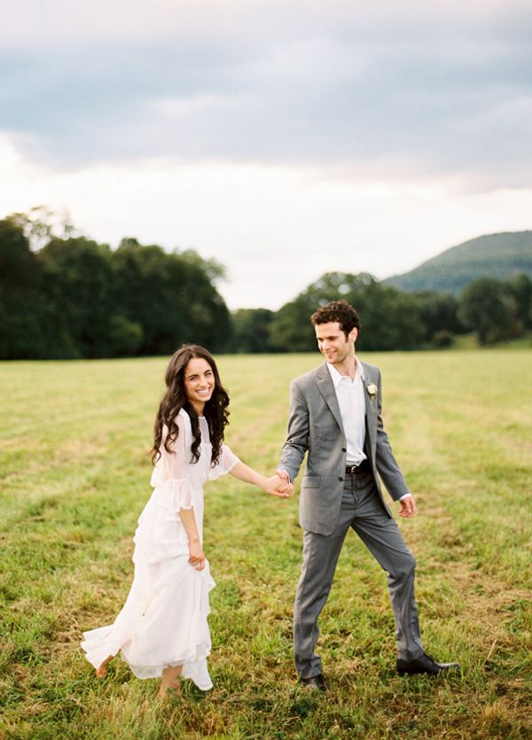 Vintage Farm Wedding Dress