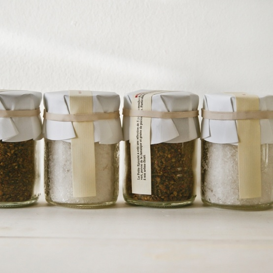 wedding favors spice jar