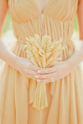 Wheat Bouquet Dress