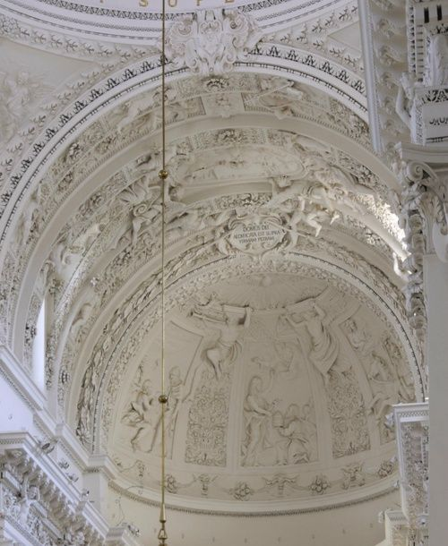 white ancient cathedral