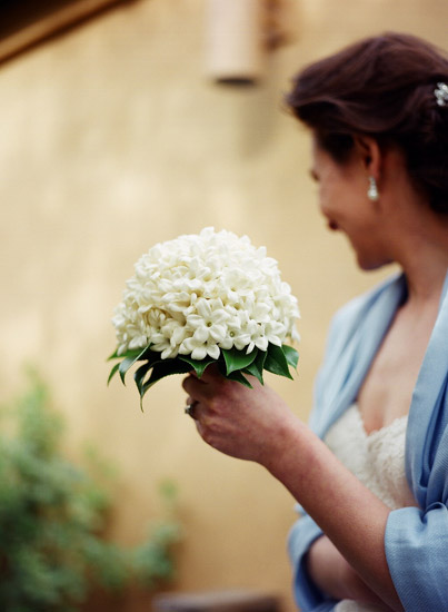 White Dome Wedding Flowers