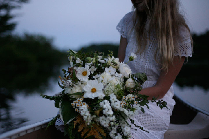 white lakeside bouquet amy merrick