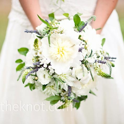 White Lavender Bouquet