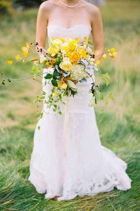 Wild Yellow Twig Bouquet