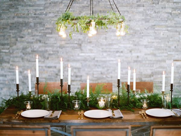 Winter Wedding Decorations Once Wed