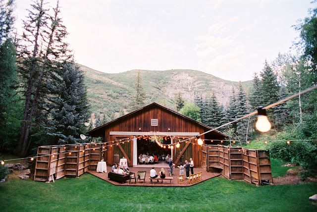 wooden barn rustic wedding venue