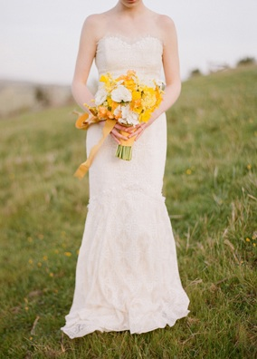 Yellow Bouquet Field