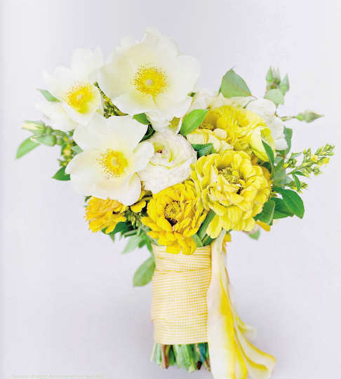 Yellow Buttercup Bouquet