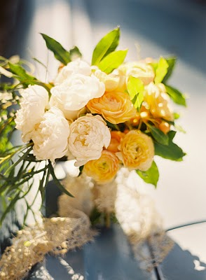 yellow white citrus bouquet