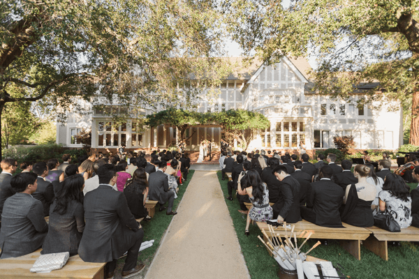 Romantic Outdoor Wedding with Bash Please - Real Weddings - Once Wed