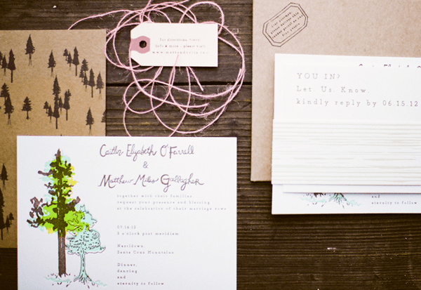 california-outdoor-wedding-invitations
