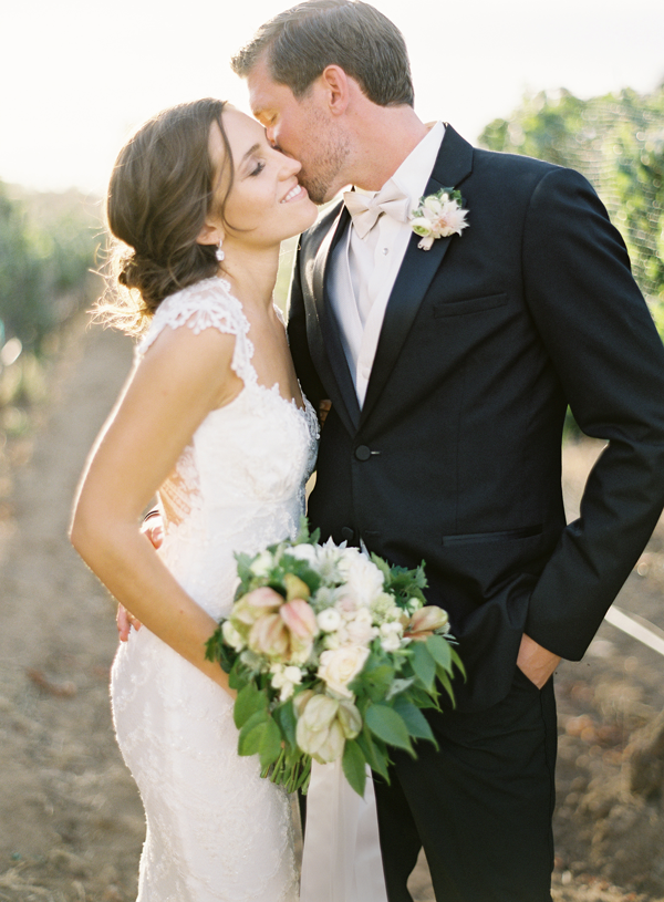 Romantic earthy wedding by jose villa once wed claire pettibone mermaid wedding dress junglespirit Images