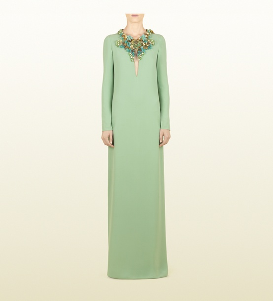 mint-long-sleeve-gown