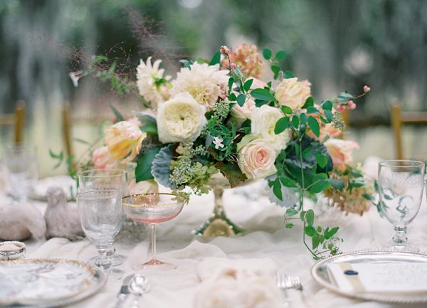 peach-and-white-wedding-centerpieces