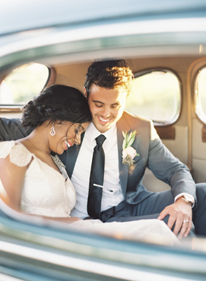 rustic-wedding-getaway-car
