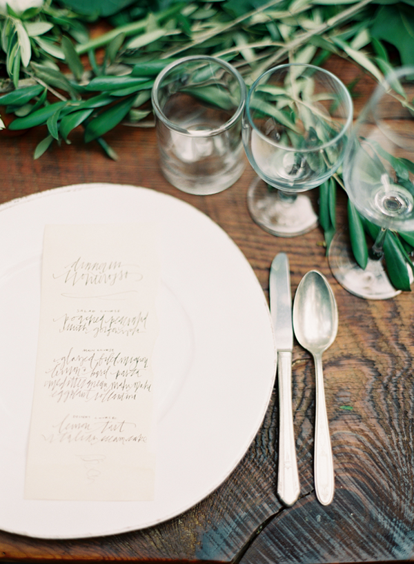Italy Inspired Rustic Wedding