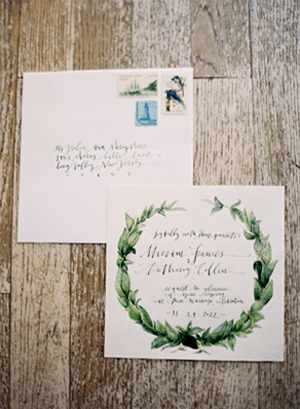 Rustic winter wedding invitations once wed rustic winter wedding invitations junglespirit Gallery