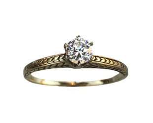 vintage-gold-diamond-ring