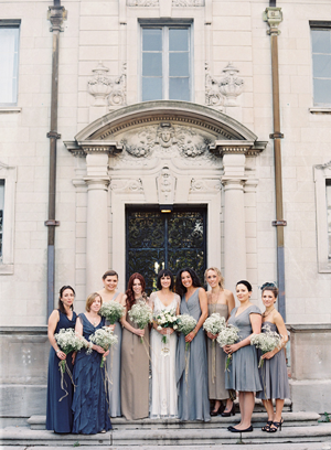 vintage-gray-bridesmaid-dresses