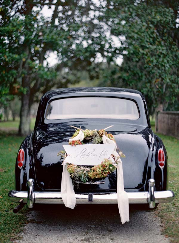Wedding car decoration ideas1 once wed for Automobile decoration