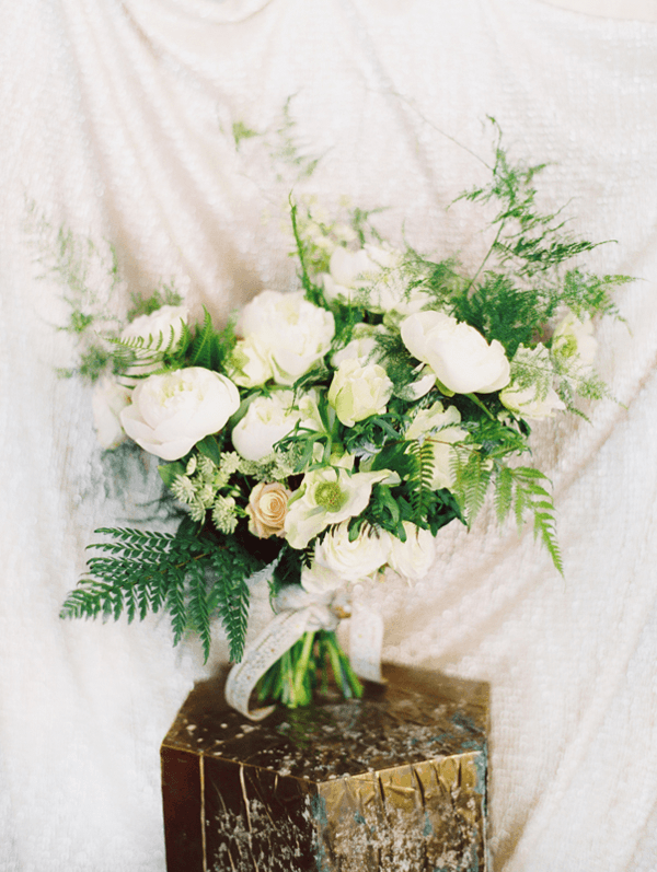 Winter wedding tablescape once wed white winter wedding flowers junglespirit Images