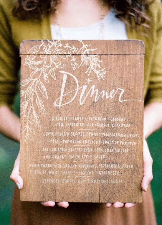 dinner-menu-wedding