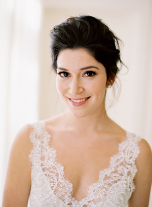 Elegant Wedding Makeup Suggestions : Romantic White Wedding in Napa - Once Wed