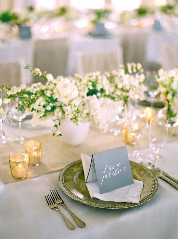 Romantic White Wedding in Napa