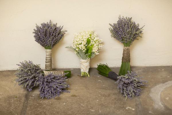 lavender-wedding-bouquets - Once Wed