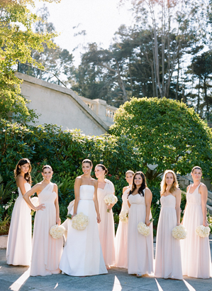 pale-pink-bridesmaid-dresses