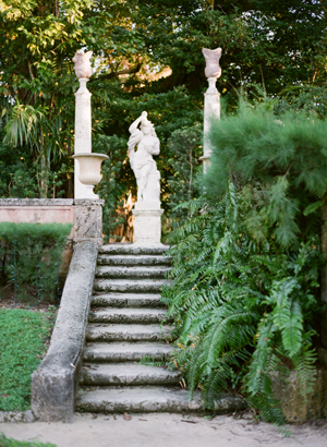 Old World Vizcaya Engagement Session