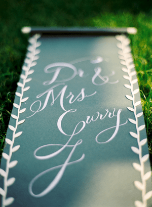 Elegant English Manor Outdoor Wedding