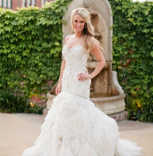 Lovely Lazaro Preowned Wedding Dresses