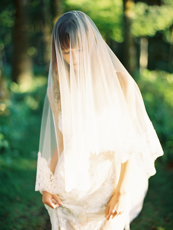 Dreamy Veil and Boudoir Editorial