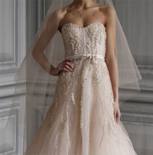 Amazing Monique Lhuillier Preowned Wedding Dresses
