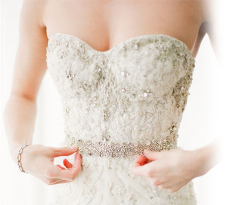 Beautiful Monique Lhuillier Preowned Wedding Dresses