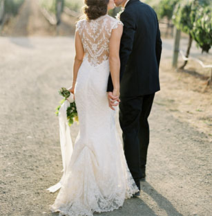 Lovely Claire Pettibone Preowned Wedding Dresses