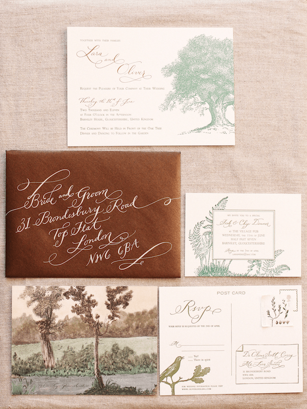 rustic-outdoor-wedding-invitations - Once Wed