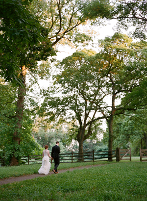 Bartram gardens outdoor wedding once wed for Outdoor wedding new york