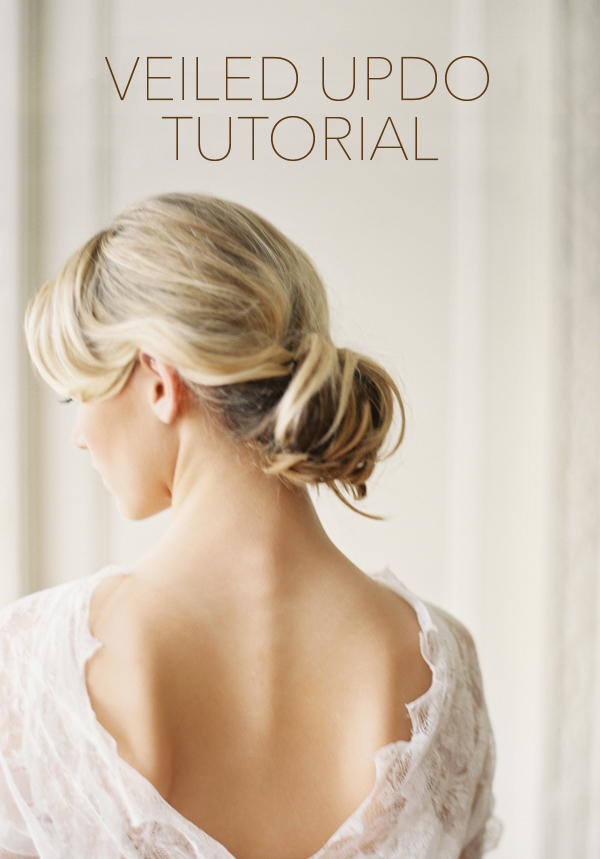 Wedding Hairstyles with Drop Veil Tutorial