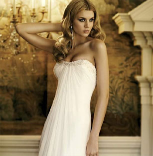 Lovely Badgley Mischka Preowned Wedding Dresses