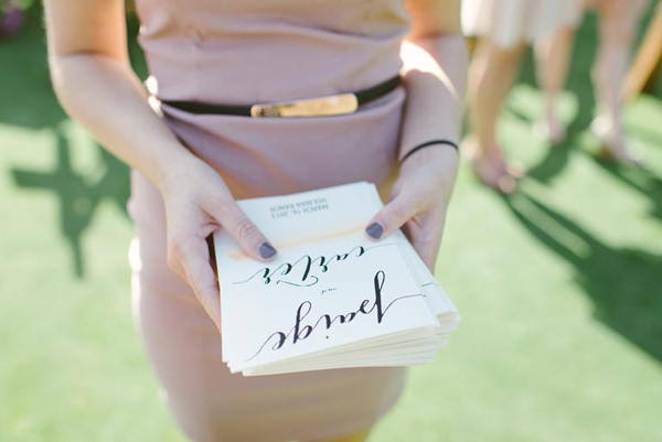 calligraphy-wedding-program-ideas
