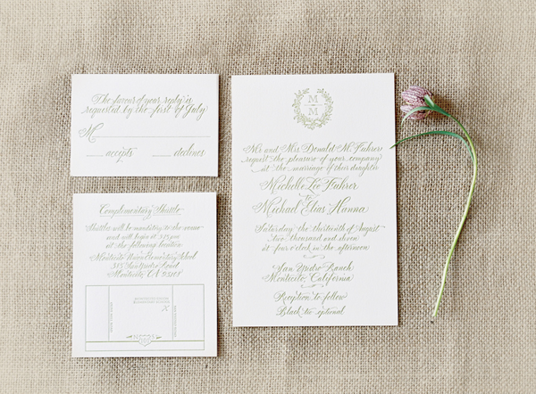 Elegant Wedding Invitation Ideas Once Wed