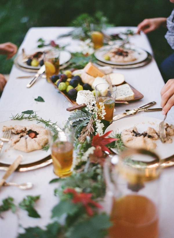 Fall wedding dinner ideas once wed Fall decorating ideas for dinner party