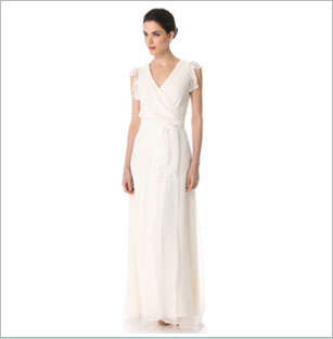 Lovely Joanna August Used Preowned Wedding Dresses