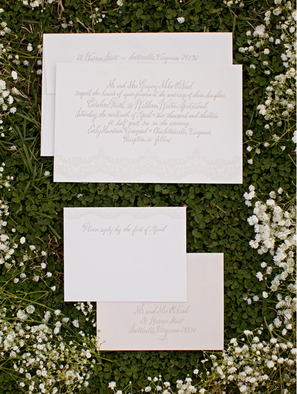 Lace Wedding Ideas For Springtime Once Wed – Invitation Ideas for Weddings